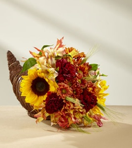 The Fall Harvest™ Cornucopia by BHG® in Sapulpa OK, Neal & Jean's Flowers & Gifts, Inc.