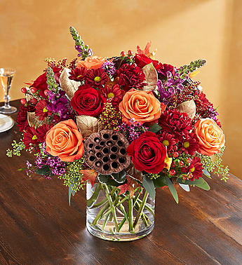 Vintage Autumn Blooms in Round Rock TX, Heart & Home Flowers