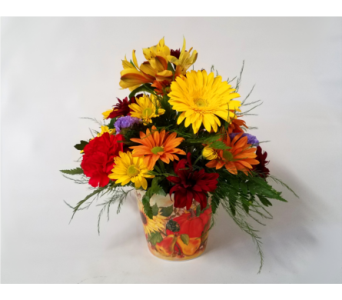 Pumpkin Party Bouquet in Mount Horeb WI, Olson's Flowers