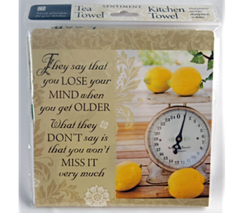 Tea Towel - Lose Your Mind in Alliston, New Tecumseth ON, Bern's Flowers & Gifts