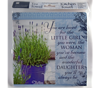 Tea Towel - You Are Loved in Alliston, New Tecumseth ON, Bern's Flowers & Gifts