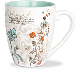 Mugs-Retirement in Alliston, New Tecumseth ON, Bern's Flowers & Gifts