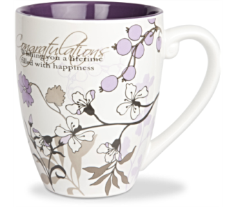 Mugs-Congratulations in Alliston, New Tecumseth ON, Bern's Flowers & Gifts