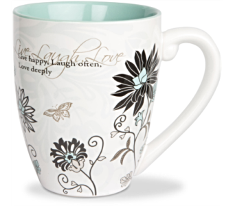Mugs-Live Laugh Love in Alliston, New Tecumseth ON, Bern's Flowers & Gifts