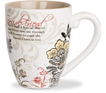 Mugs-Special Friend in Alliston, New Tecumseth ON, Bern's Flowers & Gifts