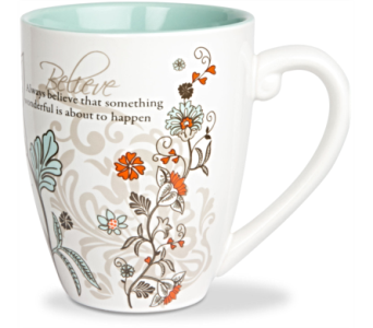 Mugs-Believe in Alliston, New Tecumseth ON, Bern's Flowers & Gifts
