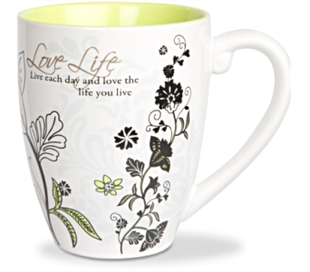 Mugs-Love Life in Alliston, New Tecumseth ON, Bern's Flowers & Gifts