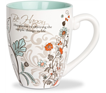 Mugs-Be Happy in Alliston, New Tecumseth ON, Bern's Flowers & Gifts