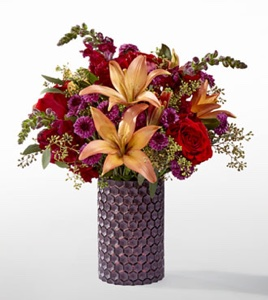 The Autumn Harvest� Bouquet by Vera Wang in Sapulpa OK, Neal & Jean's Flowers & Gifts, Inc.