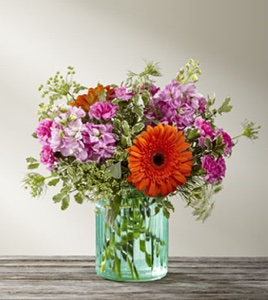 The Aqua Escape� Bouquet by BHG� in Sapulpa OK, Neal & Jean's Flowers & Gifts, Inc.