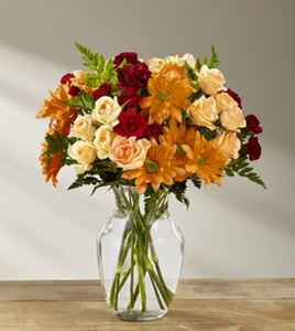 The Golden Autumn� Bouquet in Sapulpa OK, Neal & Jean's Flowers & Gifts, Inc.