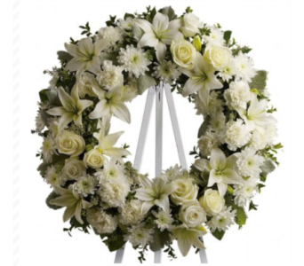 SERENITY WREATH in Needham MA, Needham Florist