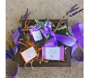 Lavender Fields Gift Set in Eugene OR, Dandelions Flowers