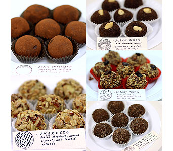Pete's Chocolate, Assorted Truffles in Detroit and St. Clair Shores MI, Conner Park Florist