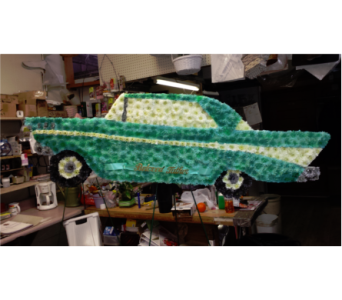 57 Chevy Bel Air - Teal in Freehold NJ, Especially For You Florist & Gift Shop