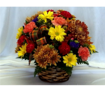 Autumn Basket in Hollidaysburg PA, Warner's Florist Gifts & Greenhouse