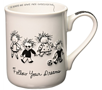 Mugs-Follow Your Dreams in Alliston, New Tecumseth ON, Bern's Flowers & Gifts