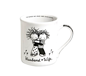 Mugs-Husband Wife in Alliston, New Tecumseth ON, Bern's Flowers & Gifts