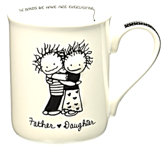 Mugs-Father Daughter in Alliston, New Tecumseth ON, Bern's Flowers & Gifts