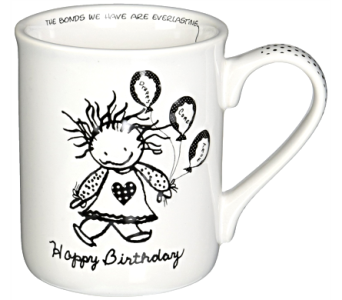 Mugs-Happy Birthday in Alliston, New Tecumseth ON, Bern's Flowers & Gifts