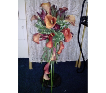 Mango Calla Cascade in Freehold NJ, Especially For You Florist & Gift Shop