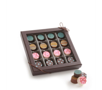 16 Piece Artisan Truffle in Albuquerque NM, Silver Springs Floral & Gift