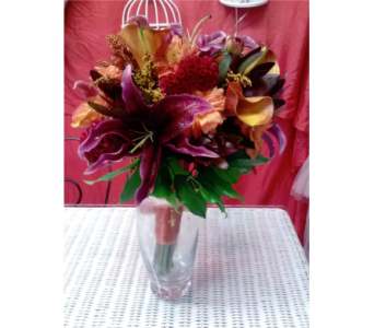 Autumn Burgundy and Rust in Freehold NJ, Especially For You Florist & Gift Shop