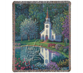 Sanctuary Tapestry Throw in Hendersonville TN, Brown's Florist