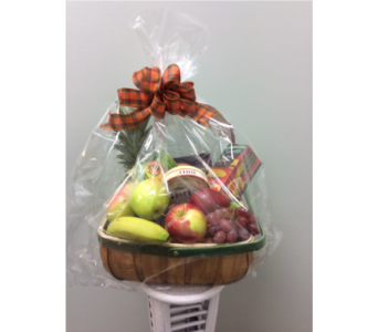 Fall Fruit & Cheese Basket in Andover MN, Andover Floral