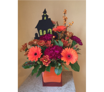 Halloween Surprise in Hales Corners WI, Barb's Green House Florist