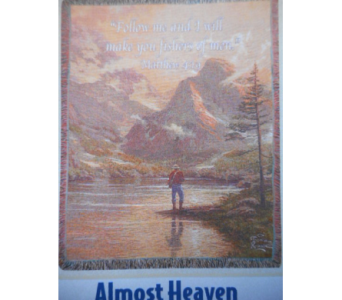 Almost Heaven Tapestry in Johnstown PA, Schrader's Florist & Greenhouse, Inc