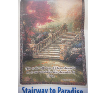 Stairway to Paradise Tapestry in Johnstown PA, Schrader's Florist & Greenhouse, Inc