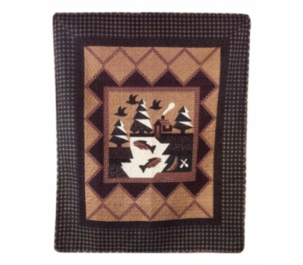 Fisherman's Wharf Tapestry Throw in Hendersonville TN, Brown's Florist