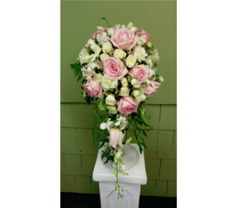 Pink Roses Teardrop  in Freehold NJ, Especially For You Florist & Gift Shop