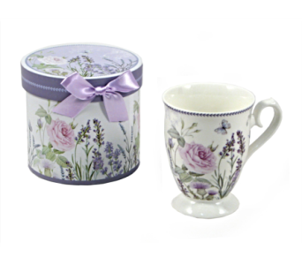 Mugs-Lavender Rose, Boxed in Alliston, New Tecumseth ON, Bern's Flowers & Gifts