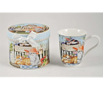 Mugs-Garden Cats, Boxed in Alliston, New Tecumseth ON, Bern's Flowers & Gifts