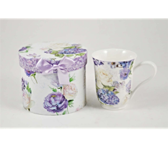 Mugs-Rose Hydrangea in Alliston, New Tecumseth ON, Bern's Flowers & Gifts