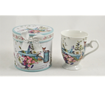 Mugs-Spring Flowers, Boxed in Alliston, New Tecumseth ON, Bern's Flowers & Gifts