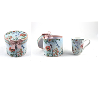 Mugs-Dragonfly And Flowers, Boxed in Alliston, New Tecumseth ON, Bern's Flowers & Gifts