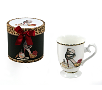 Mugs-Perfume And Heels, Boxed in Alliston, New Tecumseth ON, Bern's Flowers & Gifts
