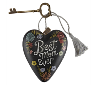 Ornaments-Art Heart, Best Mom in Alliston, New Tecumseth ON, Bern's Flowers & Gifts