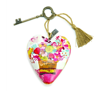 Ornaments-Art Heart, Dear Mom in Alliston, New Tecumseth ON, Bern's Flowers & Gifts
