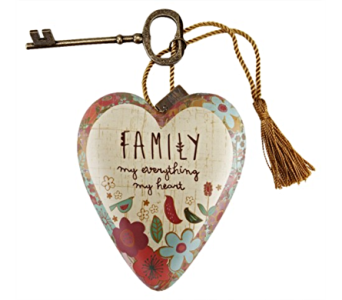Ornaments-Art Heart, Family in Alliston, New Tecumseth ON, Bern's Flowers & Gifts