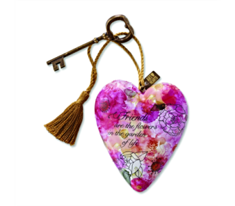 Ornaments-Art Heart, Friends Are Flowers in Alliston, New Tecumseth ON, Bern's Flowers & Gifts