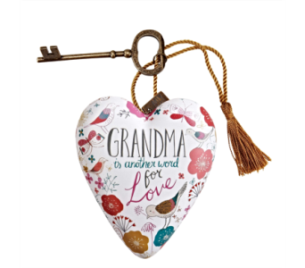 Ornaments-Art Heart, Grandma in Alliston, New Tecumseth ON, Bern's Flowers & Gifts