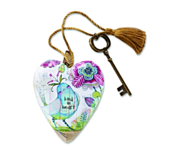 Ornaments-Art Heart, King In Heart in Alliston, New Tecumseth ON, Bern's Flowers & Gifts