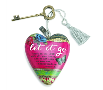 Ornaments-Art Heart, Let It Go in Alliston, New Tecumseth ON, Bern's Flowers & Gifts