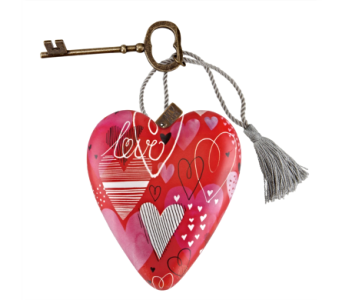 Ornaments-Art Heart, Love in Alliston, New Tecumseth ON, Bern's Flowers & Gifts