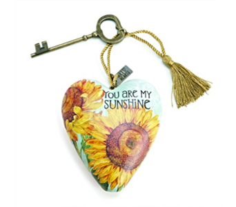 Ornaments-Art Heart, Sunshine in Alliston, New Tecumseth ON, Bern's Flowers & Gifts