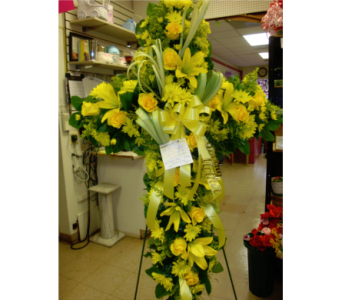 Yellow Cross in Freehold NJ, Especially For You Florist & Gift Shop